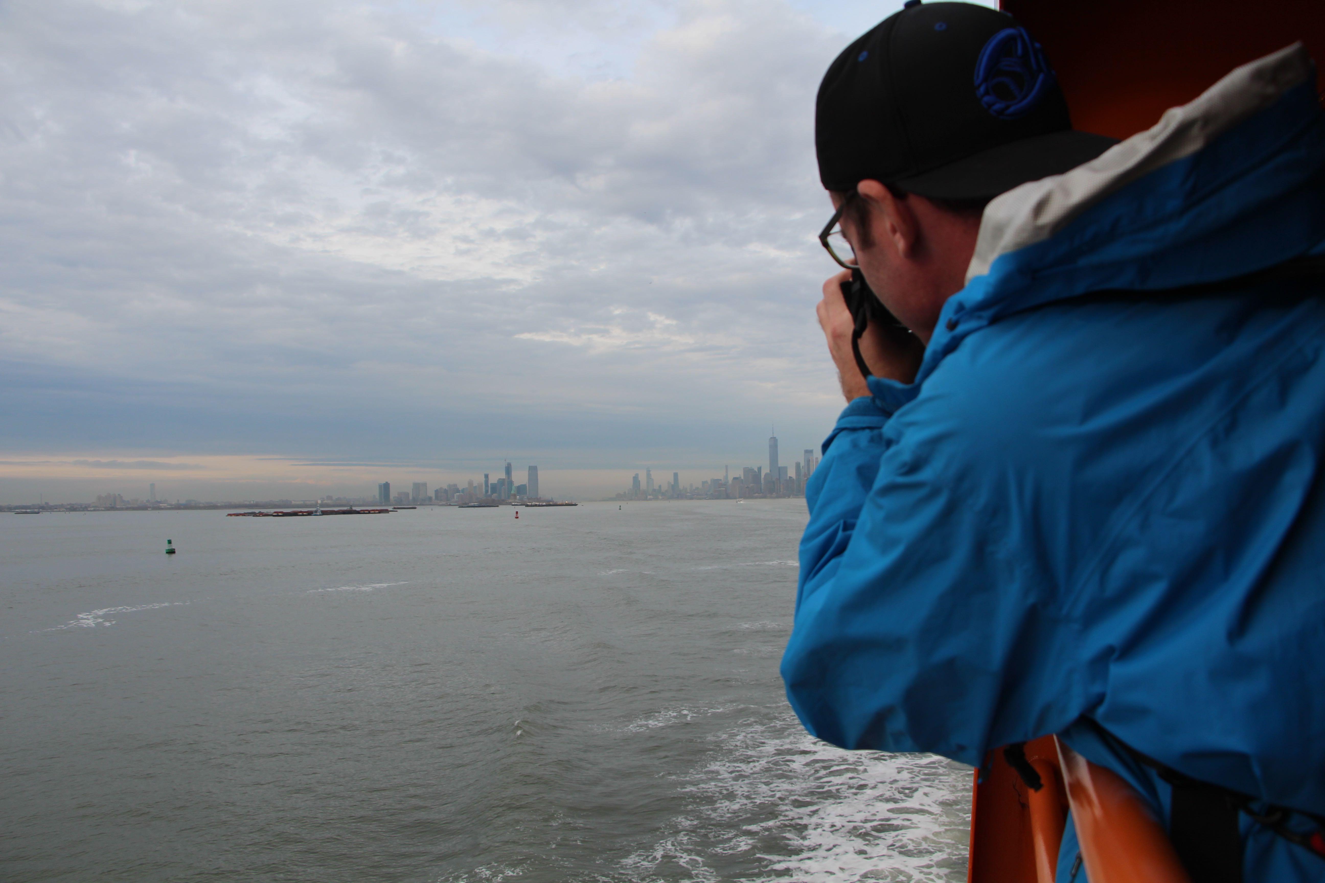 Lower Manhattan & the Staten Island Ferry