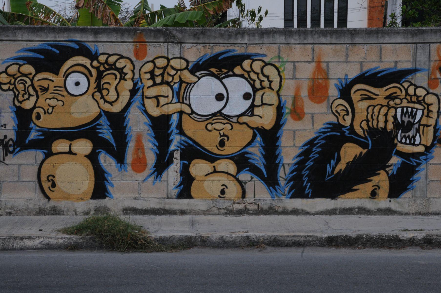 Riviera Maya Street Art – vol. 1
